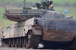 90式戦車の写真素材 [FYI00388405]