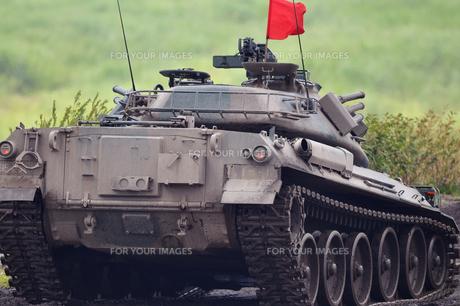 74式戦車の写真素材 [FYI00388410]