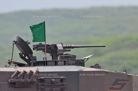 90式戦車の機関銃の写真素材 [FYI00388424]