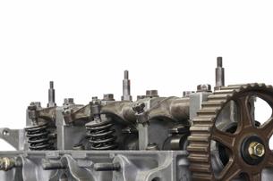 自動車エンジンの写真素材 [FYI00388449]