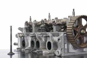 自動車エンジンの写真素材 [FYI00388457]