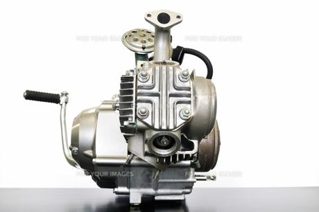 バイクのエンジンの写真素材 [FYI00388910]