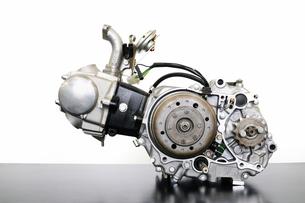 バイクのエンジンの写真素材 [FYI00388917]