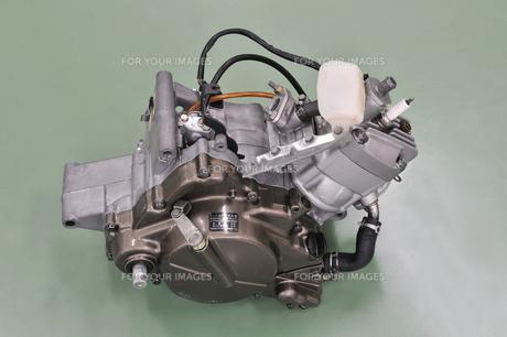 バイクのエンジンの写真素材 [FYI00389062]