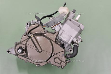 バイクのエンジンの写真素材 [FYI00389190]