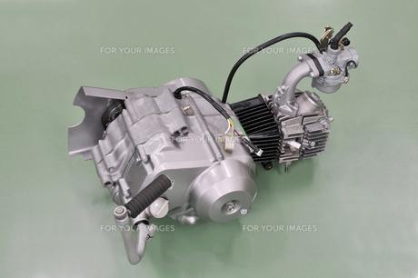 バイクのエンジンの写真素材 [FYI00389192]