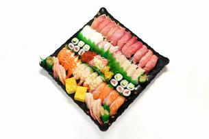 宅配寿司の写真素材 [FYI00389210]