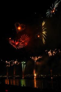 江戸川花火大会の写真素材 [FYI00389325]