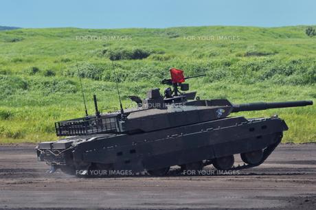 10式戦車の写真素材 [FYI00389404]