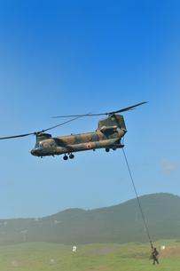 輸送ヘリCH-47Jの写真素材 [FYI00389429]