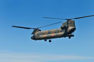 輸送ヘリCH-47Jの写真素材 [FYI00389453]