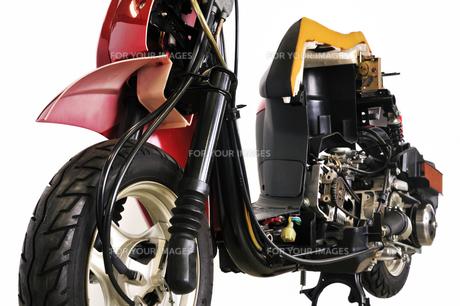 スクーターのカットモデルの写真素材 [FYI00389455]