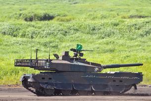 10式戦車の写真素材 [FYI00389513]