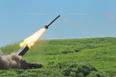 ロケット弾の写真素材 [FYI00389540]