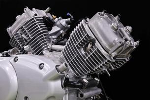 バイクのエンジンの写真素材 [FYI00389597]