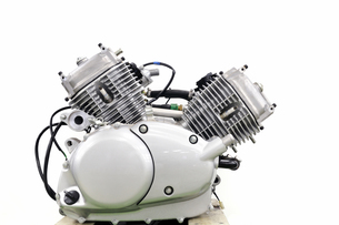 バイクのエンジンの写真素材 [FYI00389610]