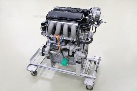 自動車のエンジンの素材 [FYI00390068]