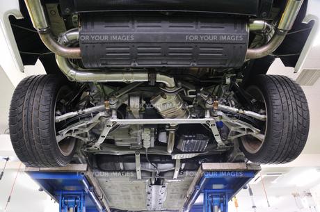 リフトの自動車の素材 [FYI00390083]