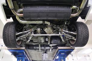 リフトの自動車の写真素材 [FYI00390083]