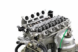 自動車エンジンの整備の写真素材 [FYI00390430]