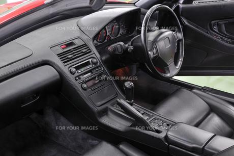 オープンカーの運転席の素材 [FYI00390515]