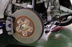 自動車のブレーキの写真素材 [FYI00390539]