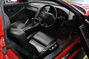 スポーツカーの運転席の素材 [FYI00390551]