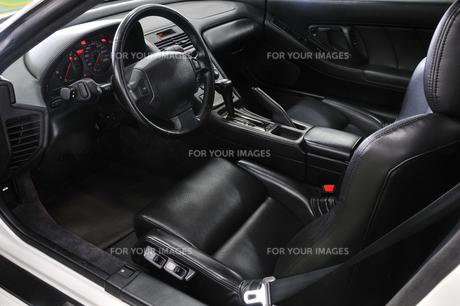 自動車の運転席の素材 [FYI00390582]