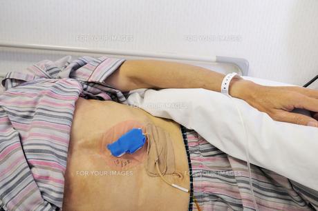 入院患者の写真素材 [FYI00390656]