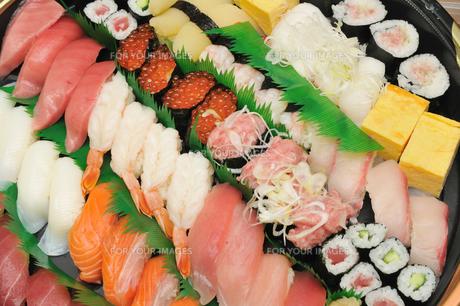江戸前寿司の素材 [FYI00390857]