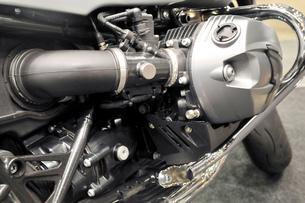 バイクのエンジンの写真素材 [FYI00390973]