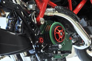 バイクのエンジンの写真素材 [FYI00391105]