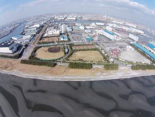 ふなばし三番瀬海浜公園の写真素材 [FYI00391151]
