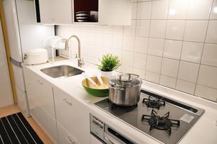 日本のキッチンの写真素材 [FYI00391222]
