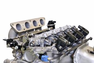 自動車エンジンの整備の写真素材 [FYI00391320]