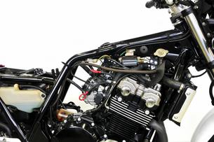 バイクの整備の写真素材 [FYI00391430]