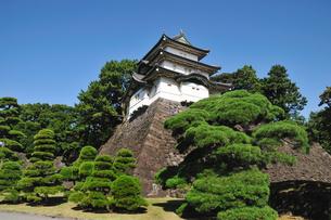 皇居の富士見櫓の写真素材 [FYI00391539]