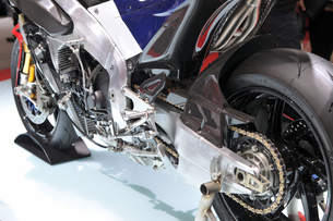 バイクのワークスマシンの写真素材 [FYI00391557]