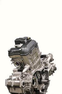 バイクのエンジンの写真素材 [FYI00391566]