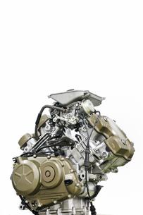 バイクのエンジンの写真素材 [FYI00391579]