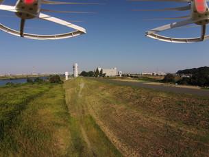 ドローンによる空撮の写真素材 [FYI00391606]
