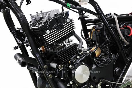 バイクの修理の素材 [FYI00391620]