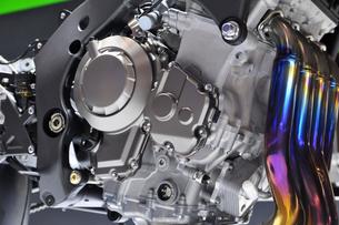 バイクのエンジンの写真素材 [FYI00391708]
