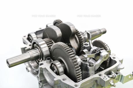 エンジンの部品の写真素材 [FYI00391785]