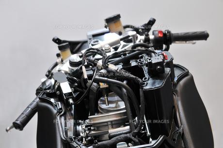 バイクの整備の素材 [FYI00391827]