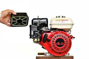 汎用エンジンの写真素材 [FYI00391850]