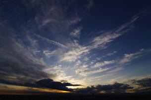 夕空の写真素材 [FYI00391935]