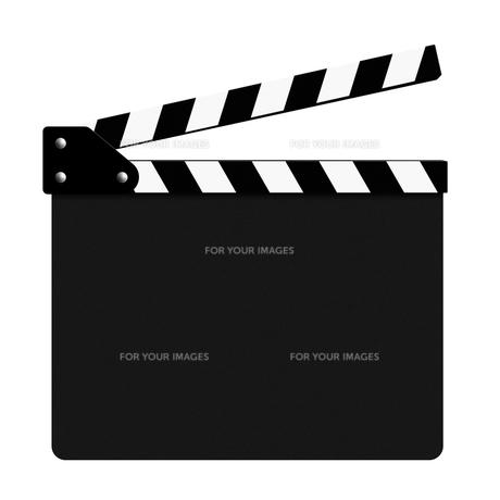 カチンコ(開)の素材 [FYI00392029]