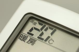 エアコンのリモコン(暖房)の写真素材 [FYI00392067]