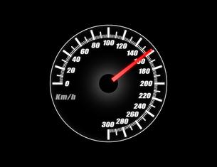 スピードメーターの写真素材 [FYI00392110]